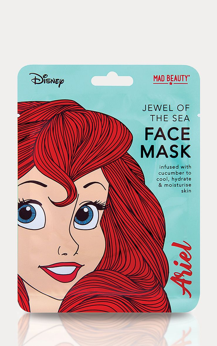 Disney Princesses Ariel Jewel Of The Sea Face Mask