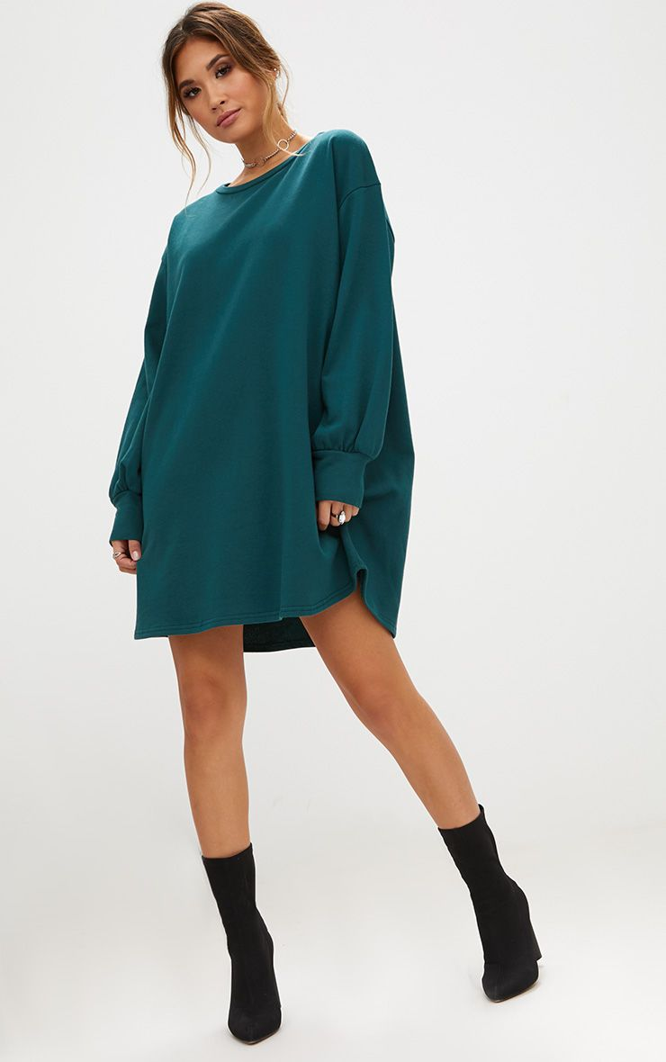 Green Oversized Dress