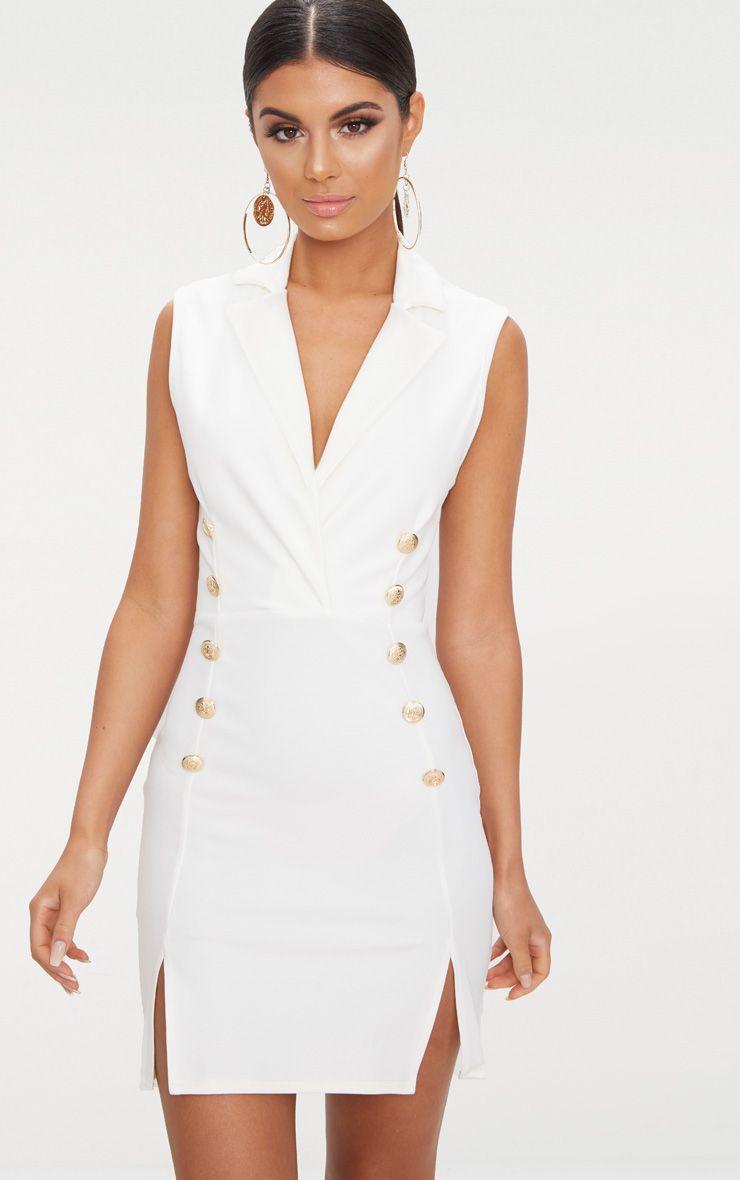 white frill bardot midi dress dresses prettylittlething usa. Black Bedroom Furniture Sets. Home Design Ideas