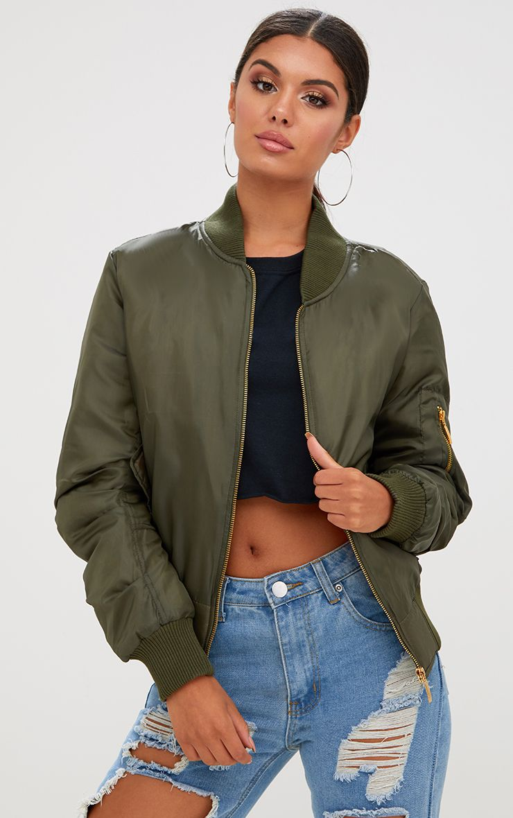 Women's Bomber Jackets | Women's Bombers | PrettyLittleThing IE