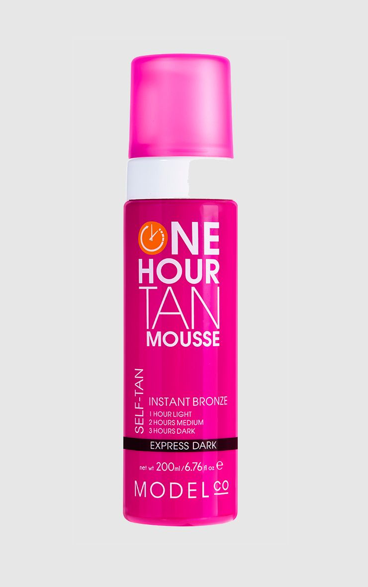 Model Co One Hour Tan Express Dark Tan Mousse