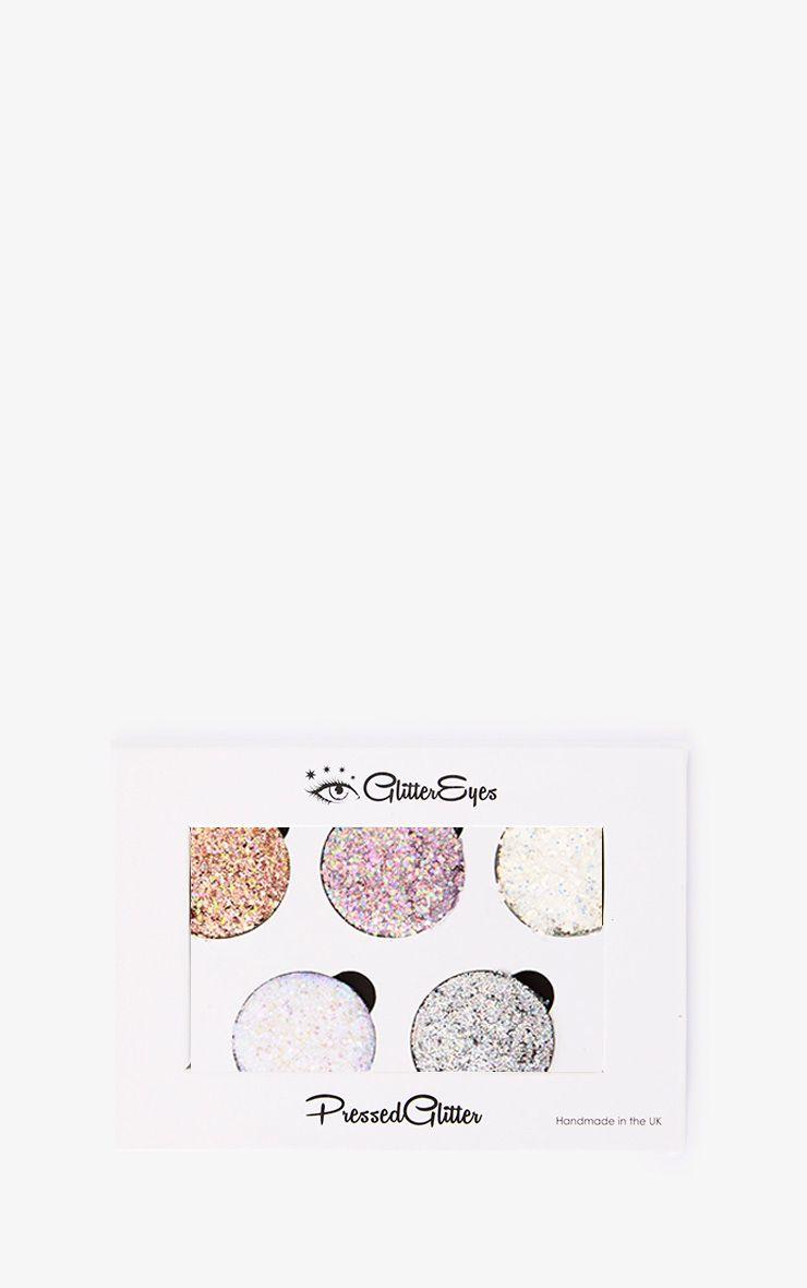 GlitterEyes Chunky 5 Pan Palette