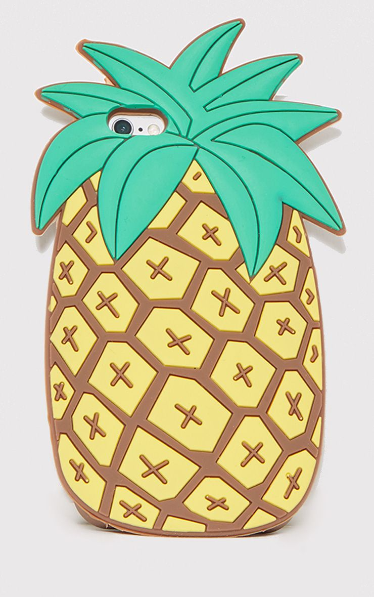 Brown Pineapple Iphone 6 Case
