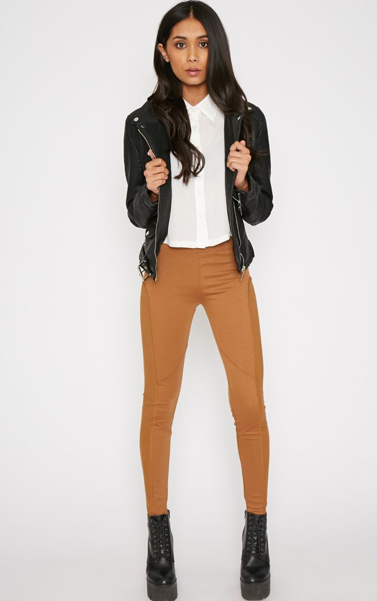 Tamera Brown Premium Legging -6 1