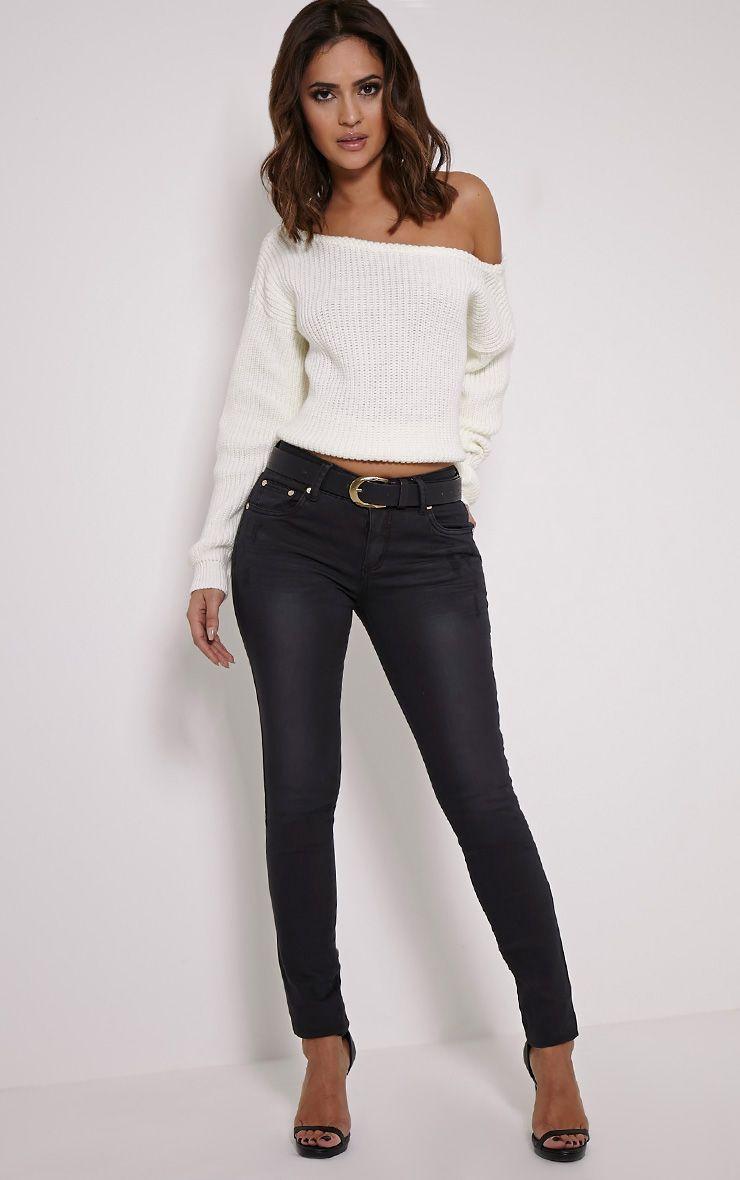 Nars Black Slim Fit Jean 1