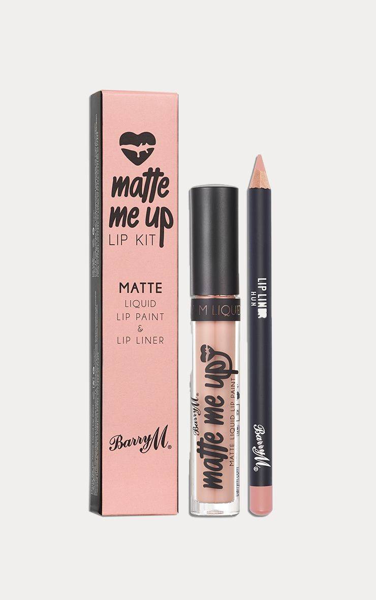 BarryM Limited Edition Matte Liquid Lip Kit Hun
