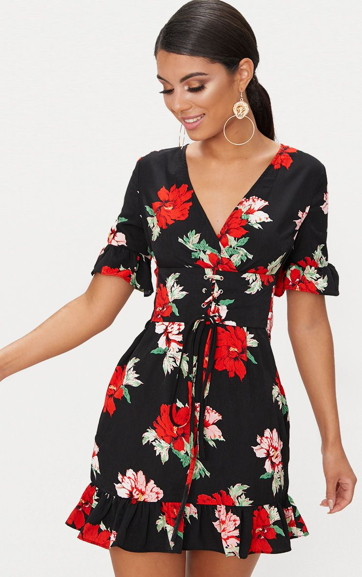 Day Dresses Day Amp Casual Dresses Prettylittlething