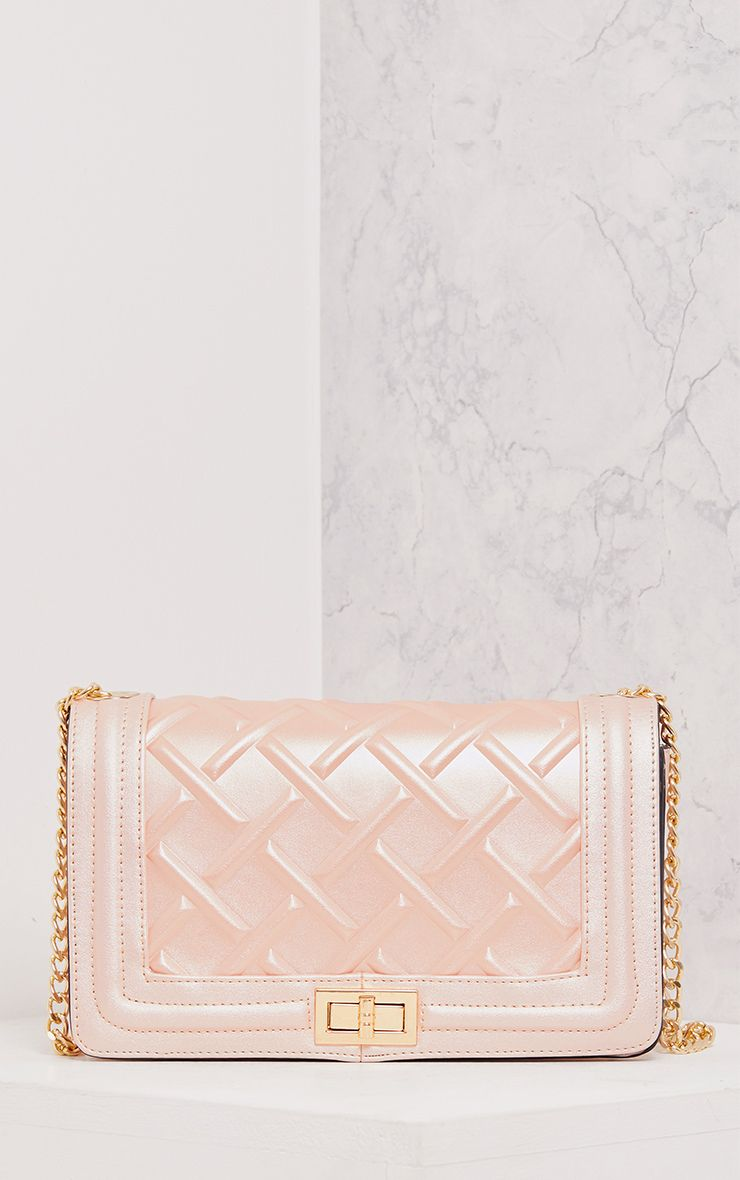 Cindy Rose Gold Chain Strap Shoulder Bag