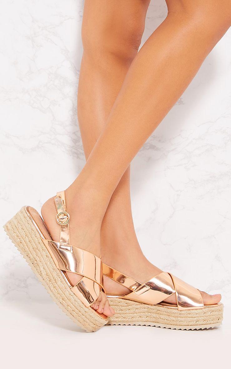 Gwynn Flatform Sandals - Black in 2020 | Flatform sandals