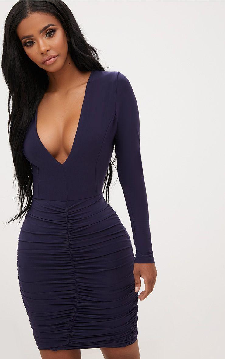 Women in slinky dresses fashion