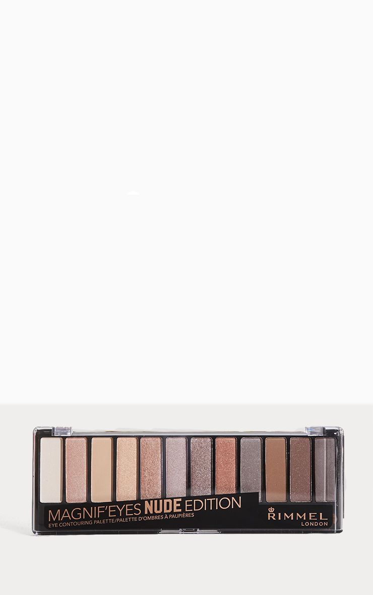 Rimmel Magnifeyes Eye Contouring Nude Edition Palette