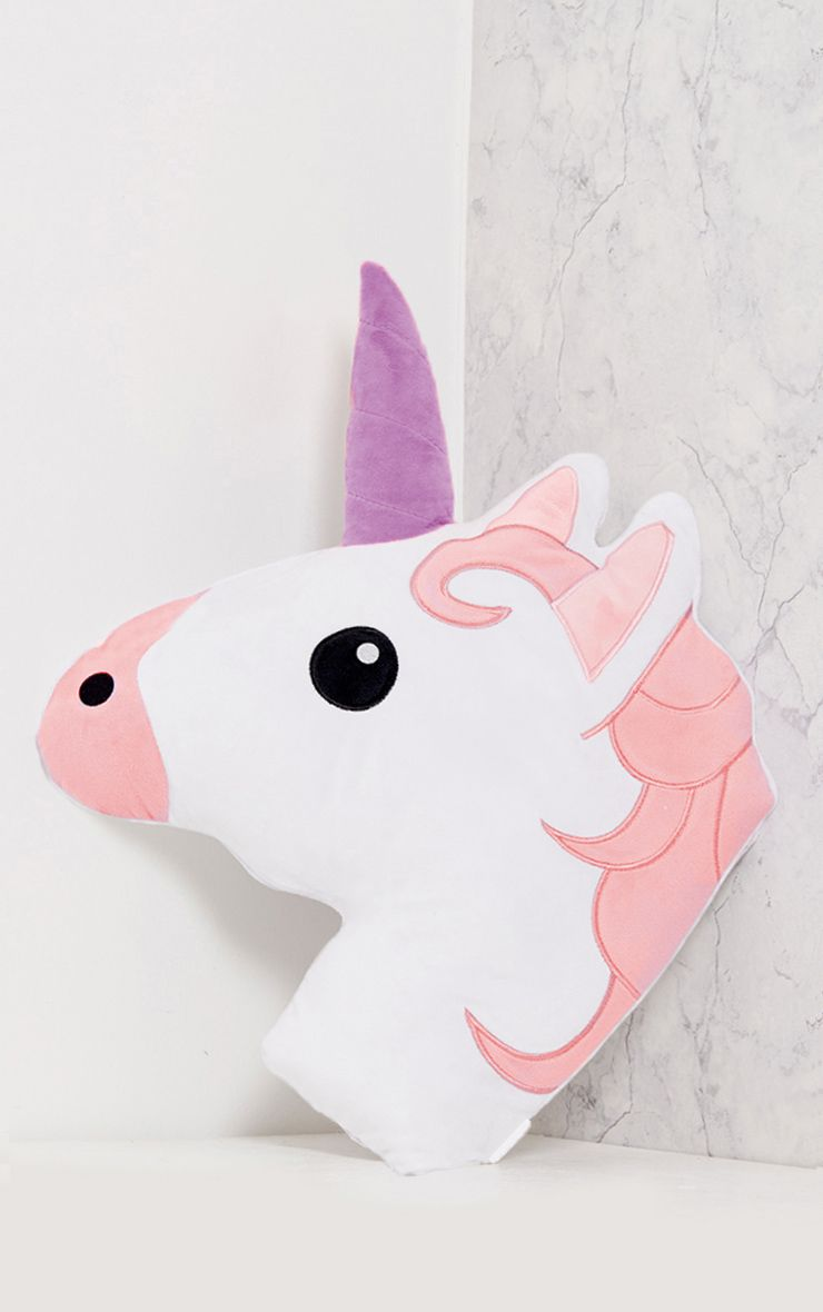 Purple Unicorn Cushion