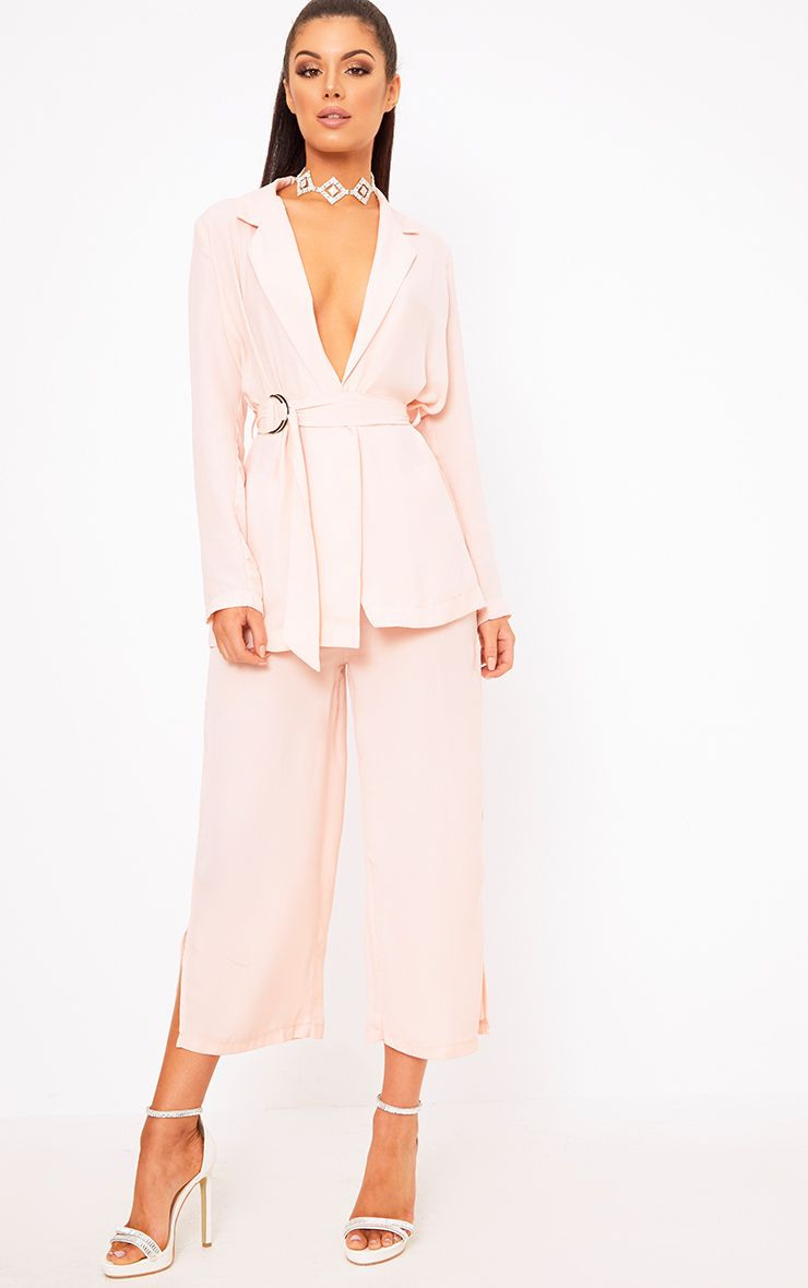 Romily Nude Suit Culottes