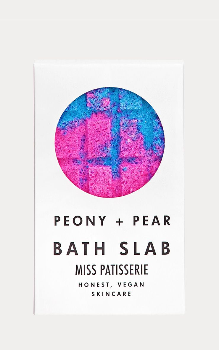 Miss Patisserie Peony & Pear Bath Slab