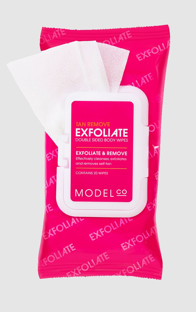 Model Co Exfoliate Double Sided Body Wipes