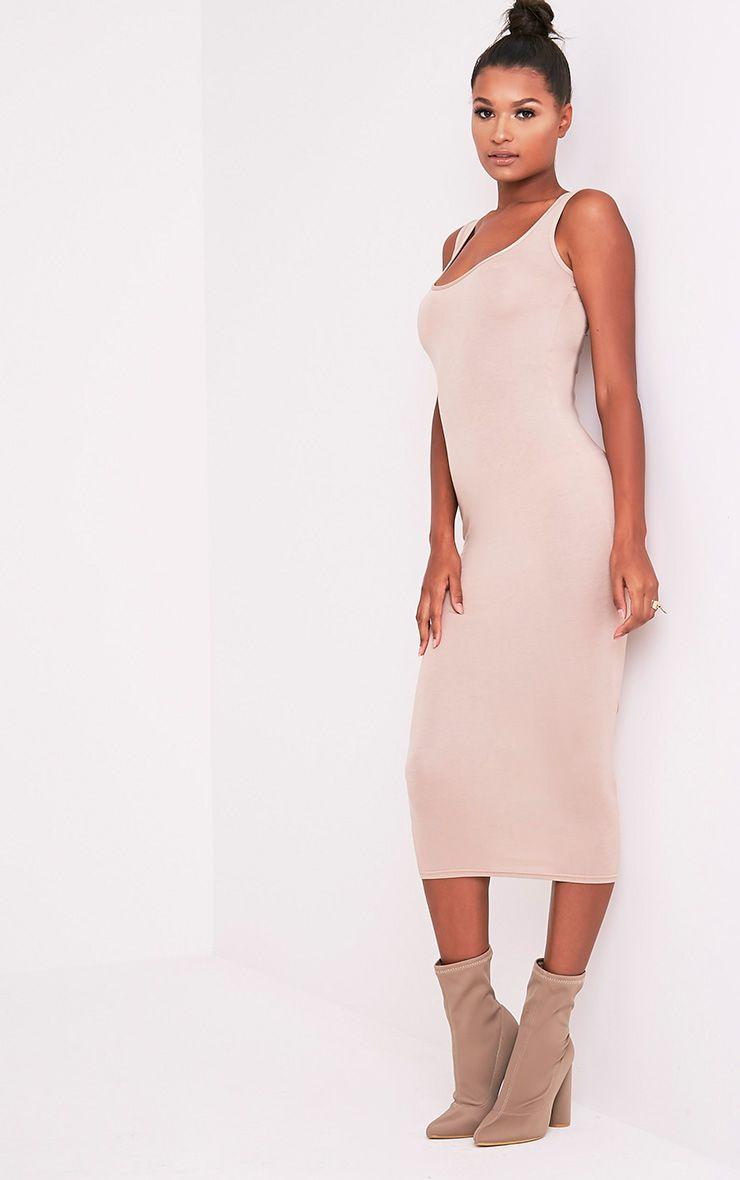 Mirah Stone Scoop Neck Midaxi Dress 4