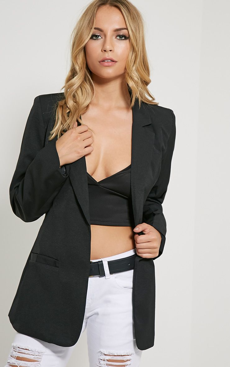 Tamu Black Tailored Blazer 1