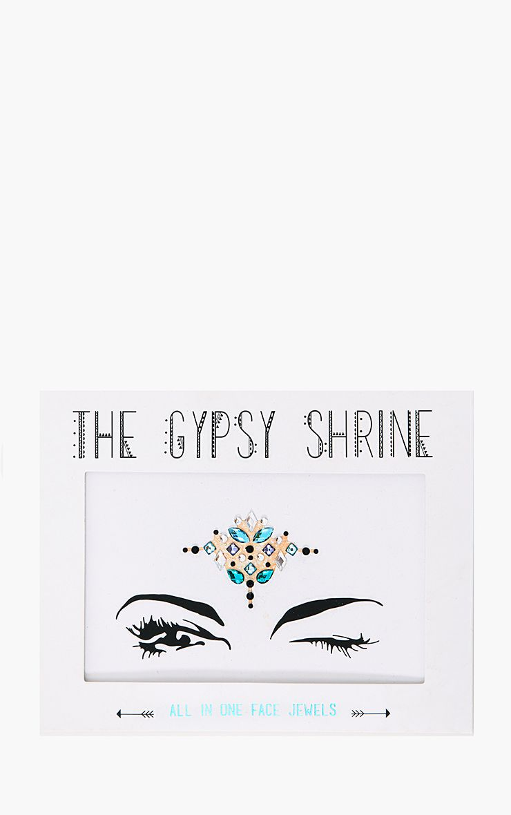The Gypsy Shrine Blue Night Fever Face Jewels