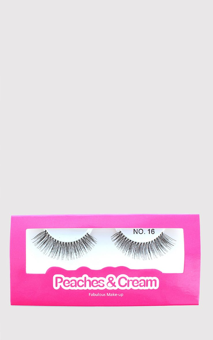 Peaches & Cream NO 16 False Eyelashes 1