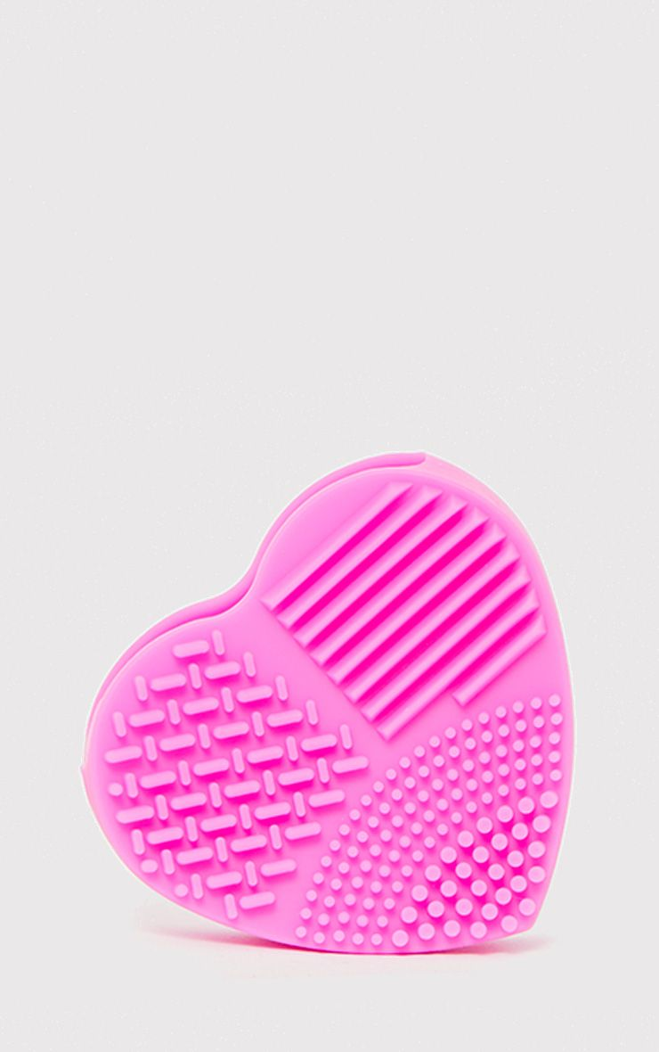Pretty Pink Make Up Brush Cleaning Pad