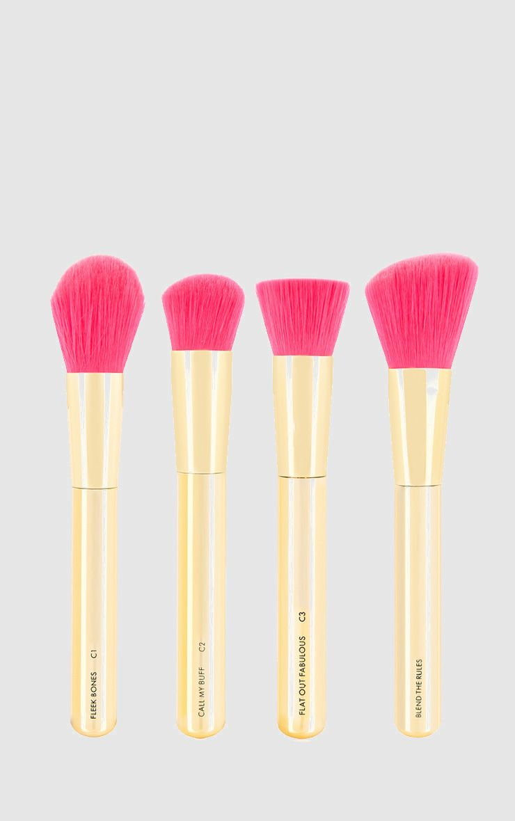 Skinny Dip Gold Rush Shut The Contour Brush Set