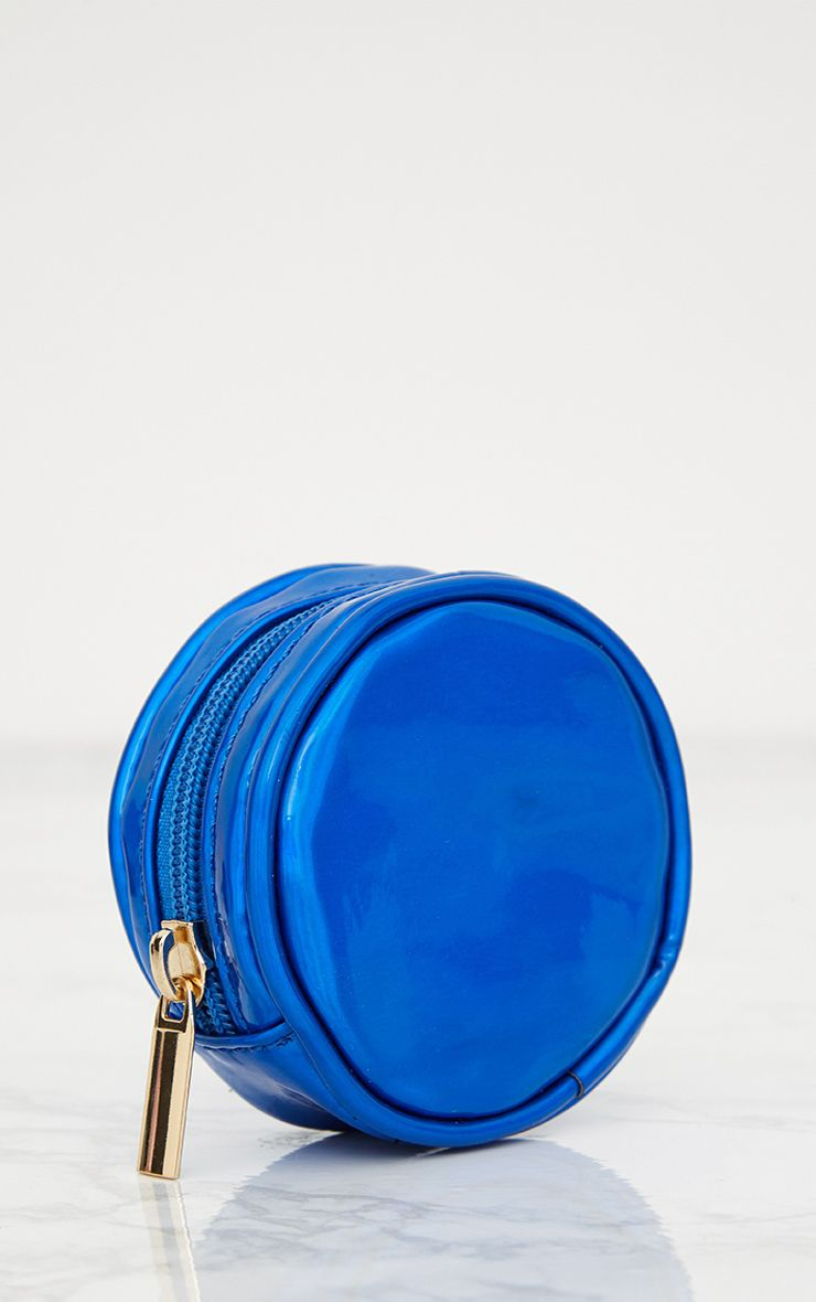 Blue Small Circle Purse