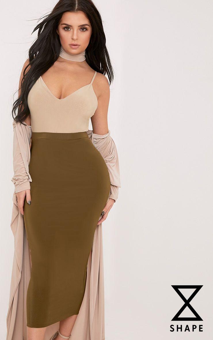 Shape Francina Nude Slinky Plunge Bodysuit
