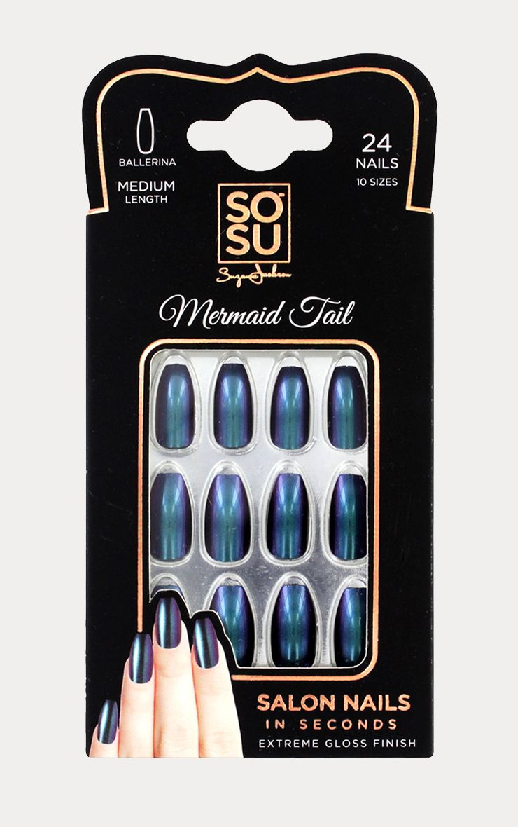 Sosu Mermaid Tail False Nails
