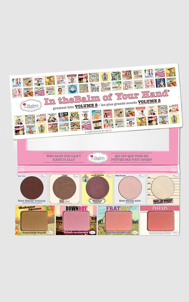 Palette fards à paupières et blush In The Balm Of Your Hand TheBalm