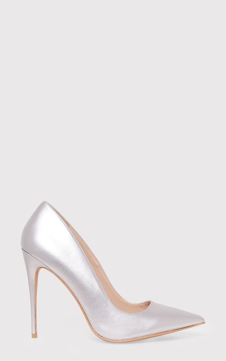 Cayleigh Silver Pointed Heels