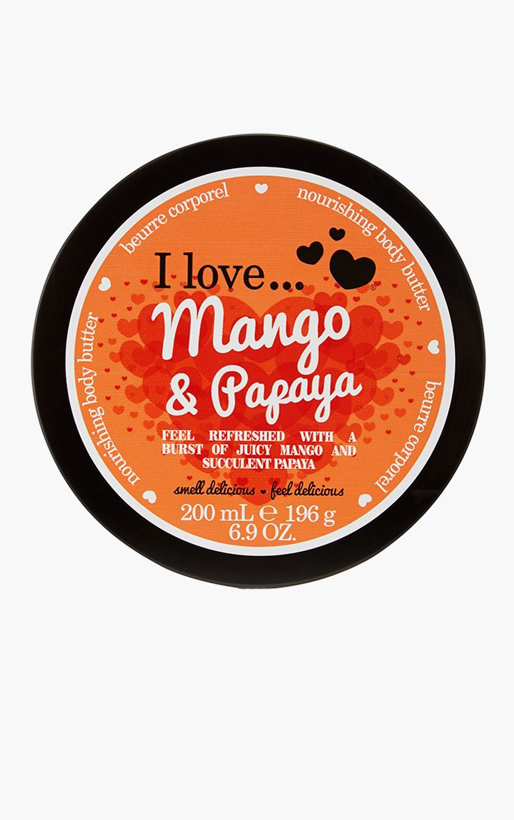 I Love Body Butter Mango Papaya