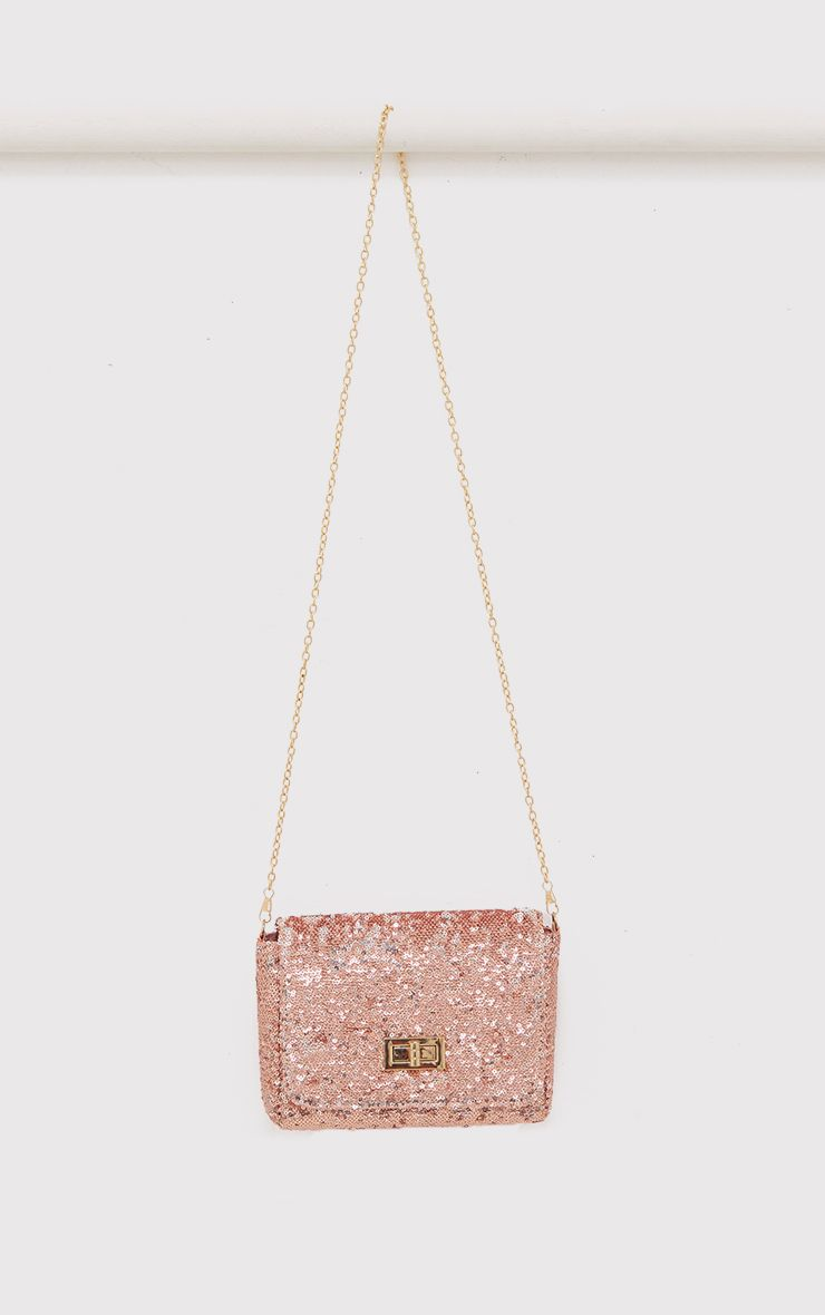 Elisa Irridescent Sequin Mini Bag