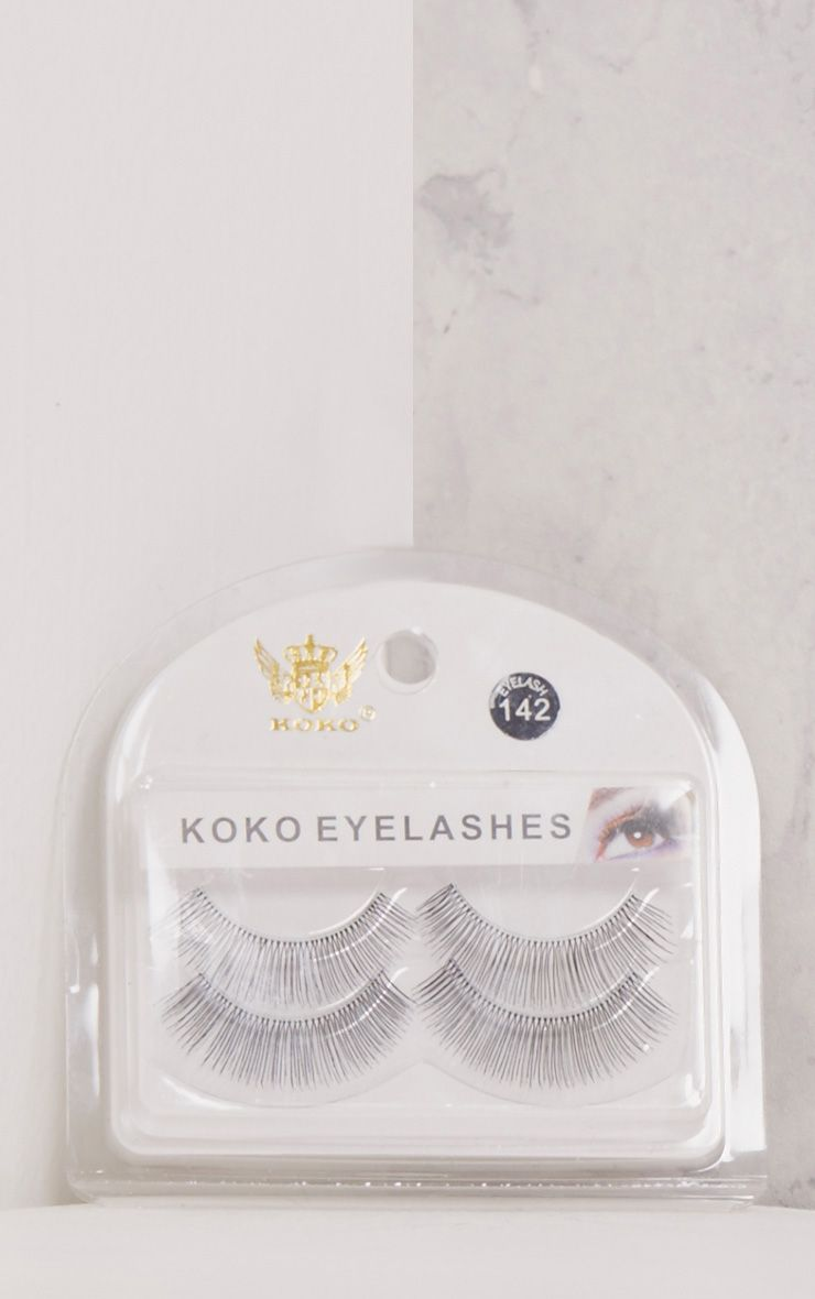 Koko No. 142 Double Pack Natural Lash