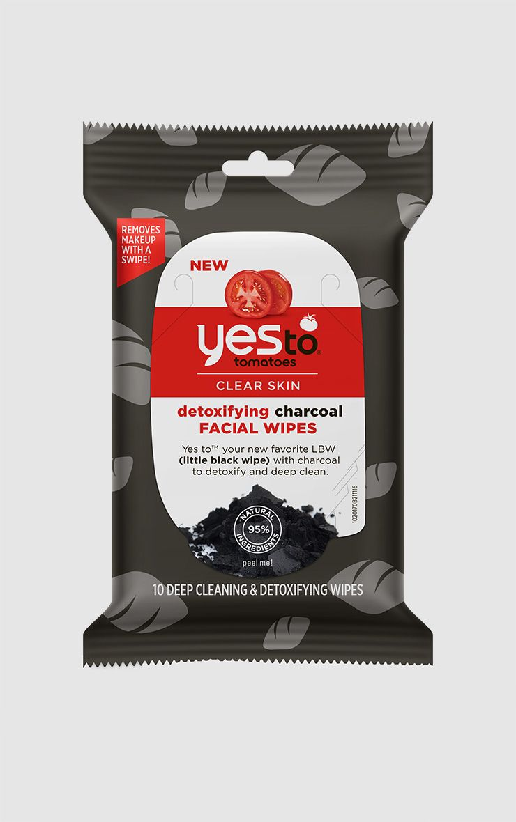 Yes To Tomatoes Travel Size Detoxifying Charcoal Wipes
