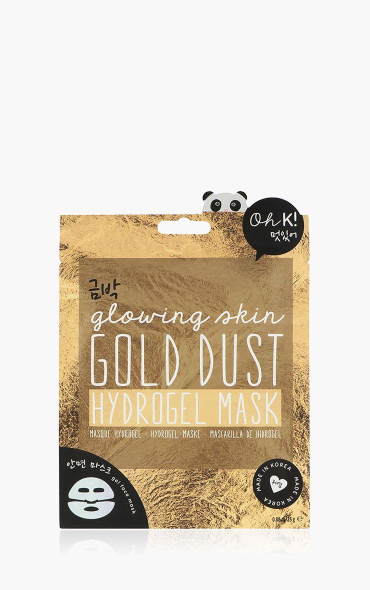 Oh K ! Masque visage poussière d'or