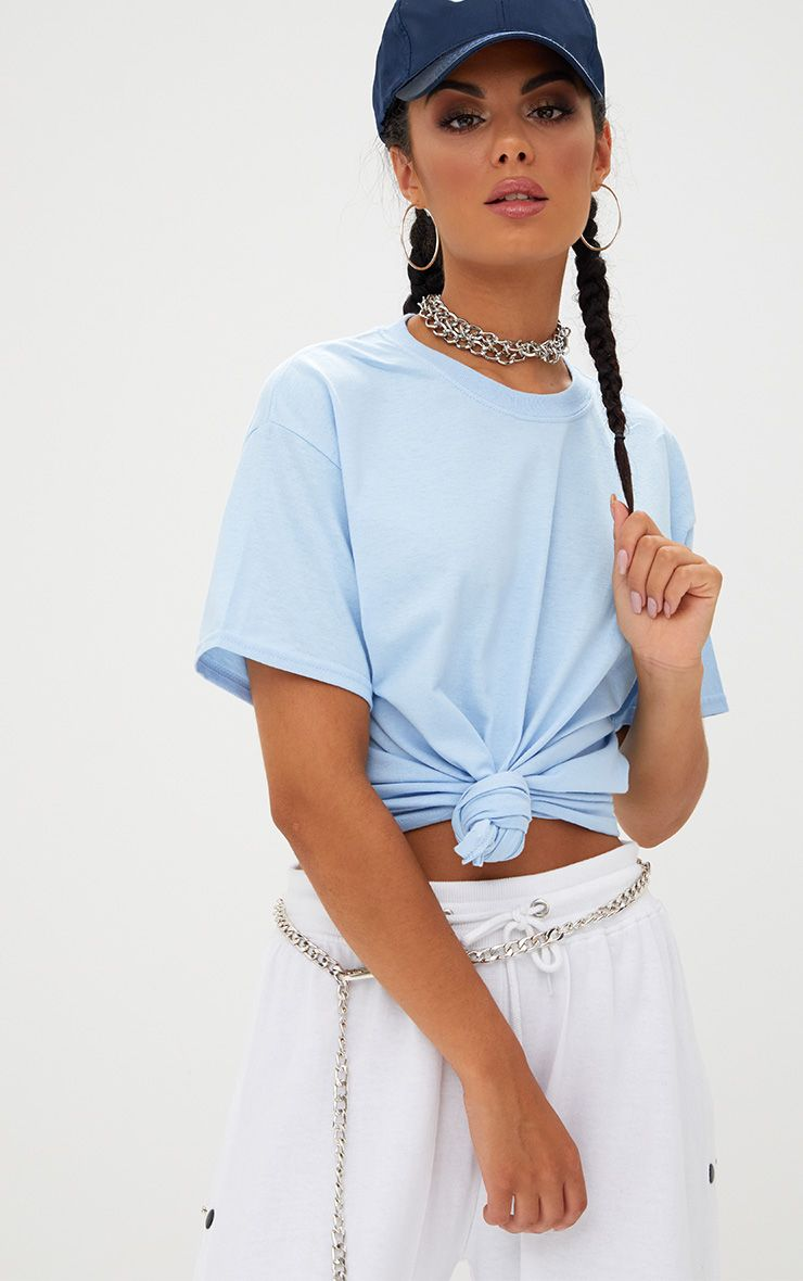 Ultimate Light Blue Oversized T Shirt