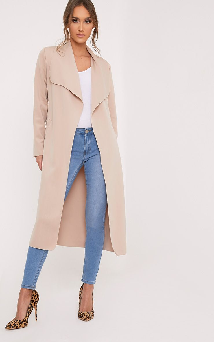 Paisie Stone Scuba Waterfall Coat