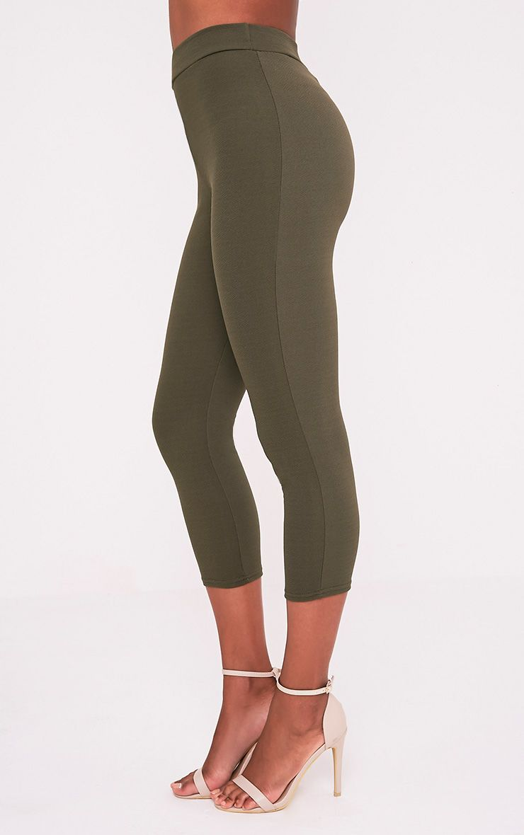 Danelle pantalon skinny crêpe kaki 4
