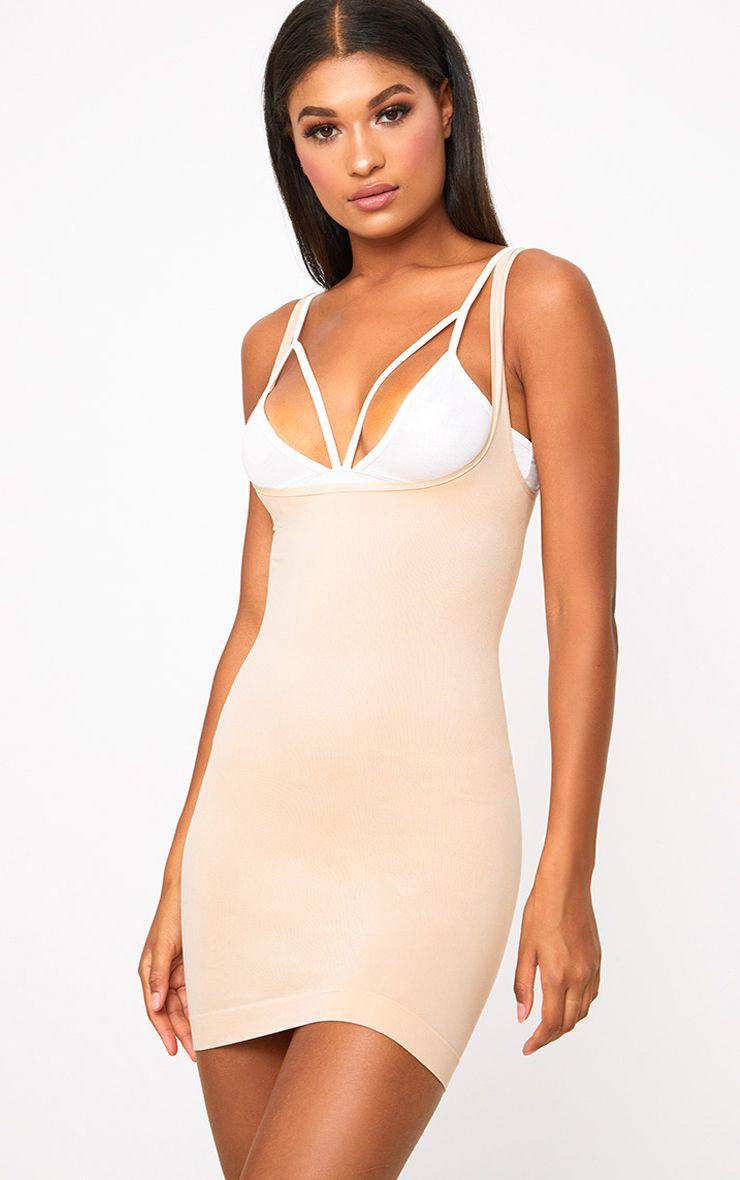 Nude Underbust Control Dress