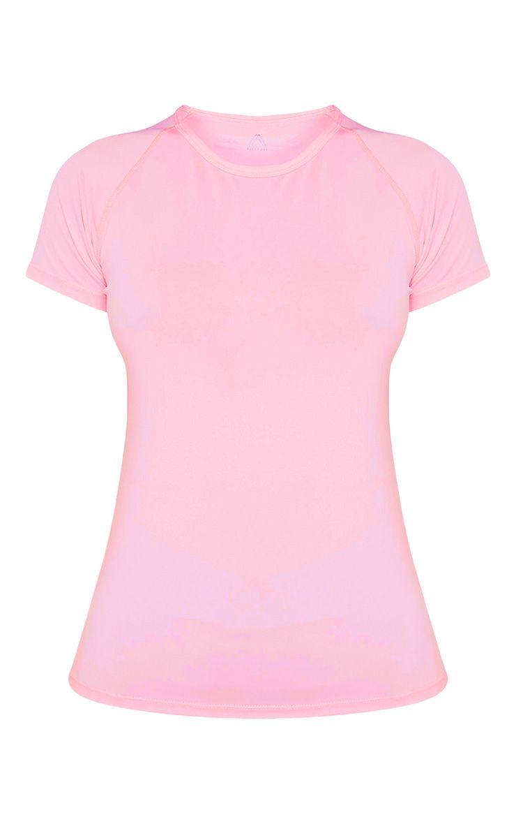 Tia t-shirt de sport à manches courtes rose bébé 3