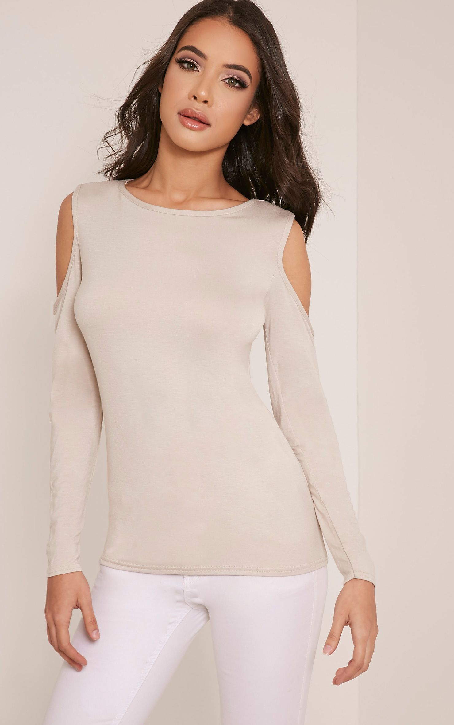 Tracy Stone Cold Shoulder Tunic Top 1
