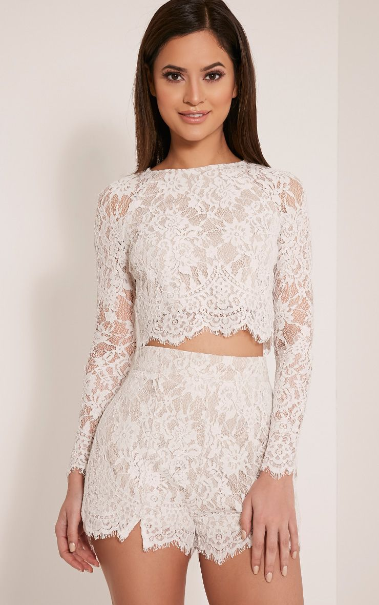 Shop for the Black Long Sleeve Lace Crop Top online erawtoir.ga offer the latest fashion women Crop Tops at cheap prices with free shipping.