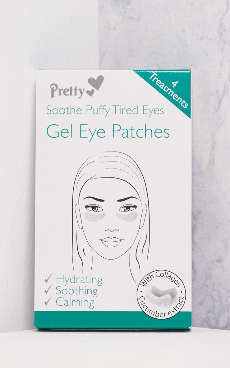 Four Pack Soothing Puffy Tired Eyes Gel Eye Patches
