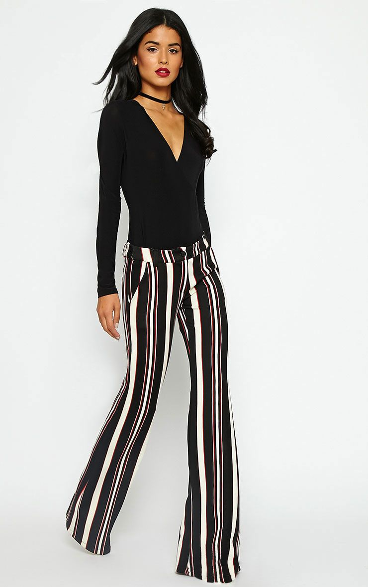 Zadia Stripe Trousers 1