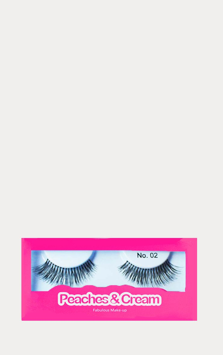 Peaches & Cream NO 2 False Eyelashes 1
