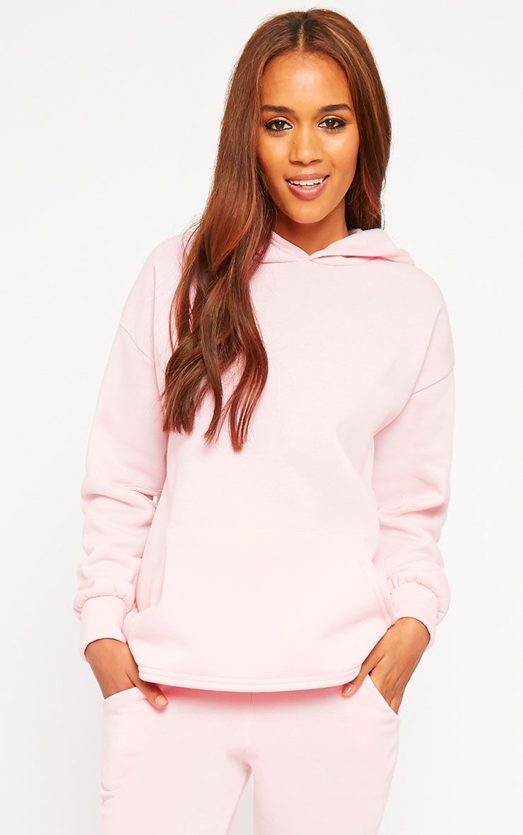 Dionne Pink Slit Elbow Sweater 1