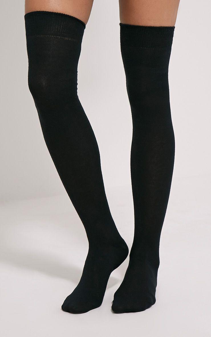 Penny Black Over The Knee Socks 1