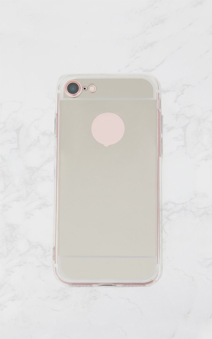 Silver Mirrored IPhone Case Size 7 1