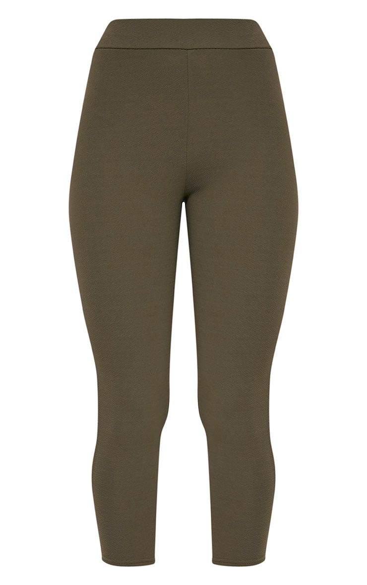 Danelle pantalon skinny crêpe kaki 3