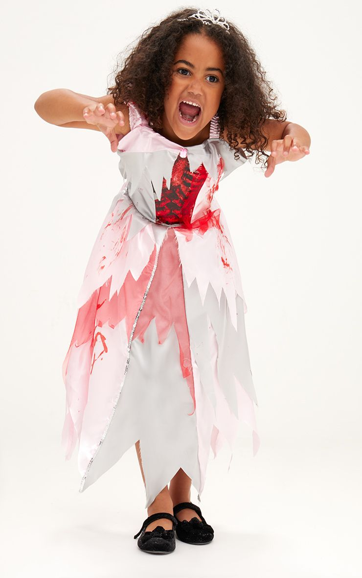 Zombie Princess Halloween Costume 1